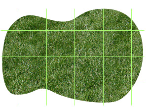 Measuring an odd-shaped lawn