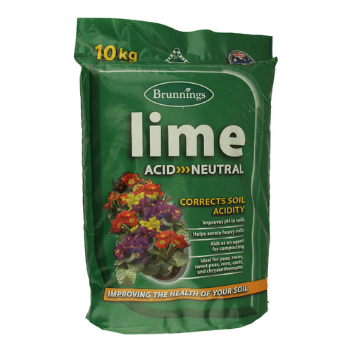 Brunnings Garden Lime 10kg
