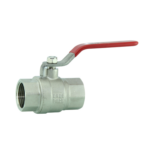 Brass ball valve 25mm