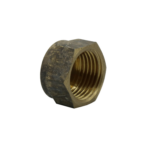 Cap Brass 15mm