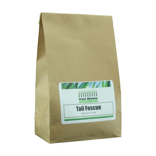 Tall Fescue lawn seed 1kg